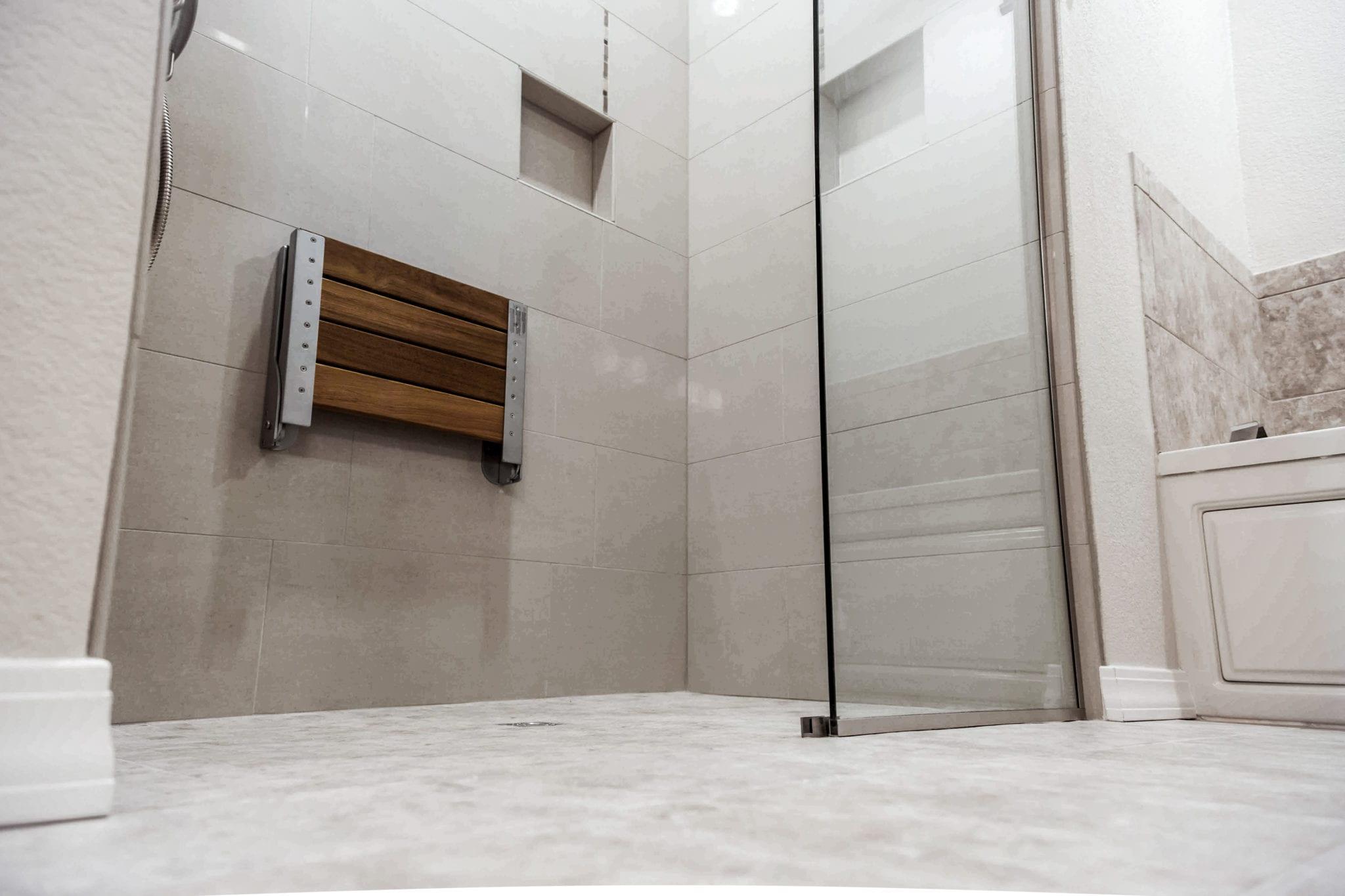 Walk-In & Roll-In ADA Shower Remodeling Tyler TX